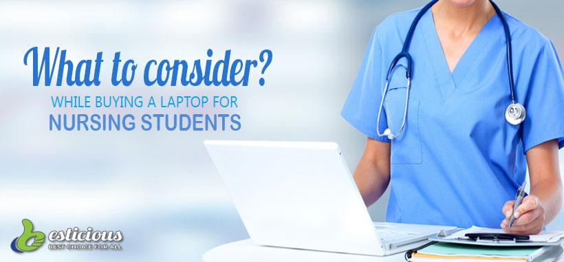 best laptops for nursing students 2019