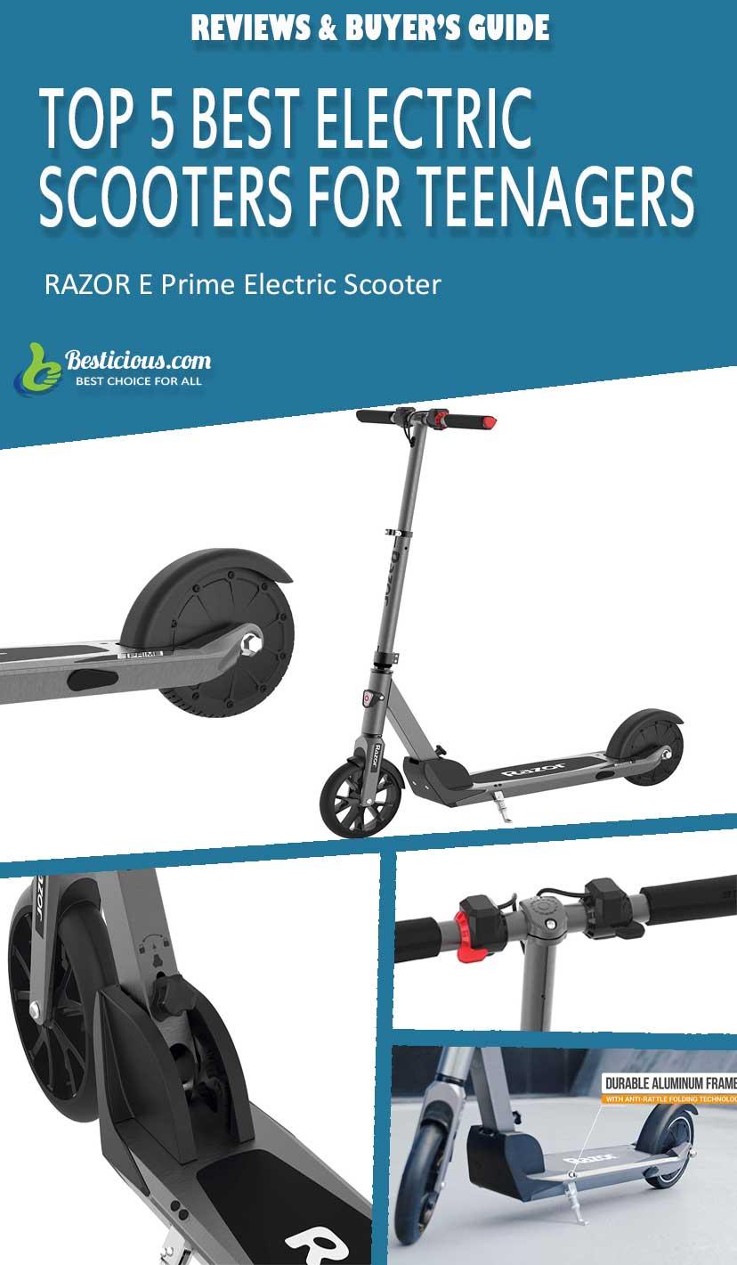 razor eprime scooter review